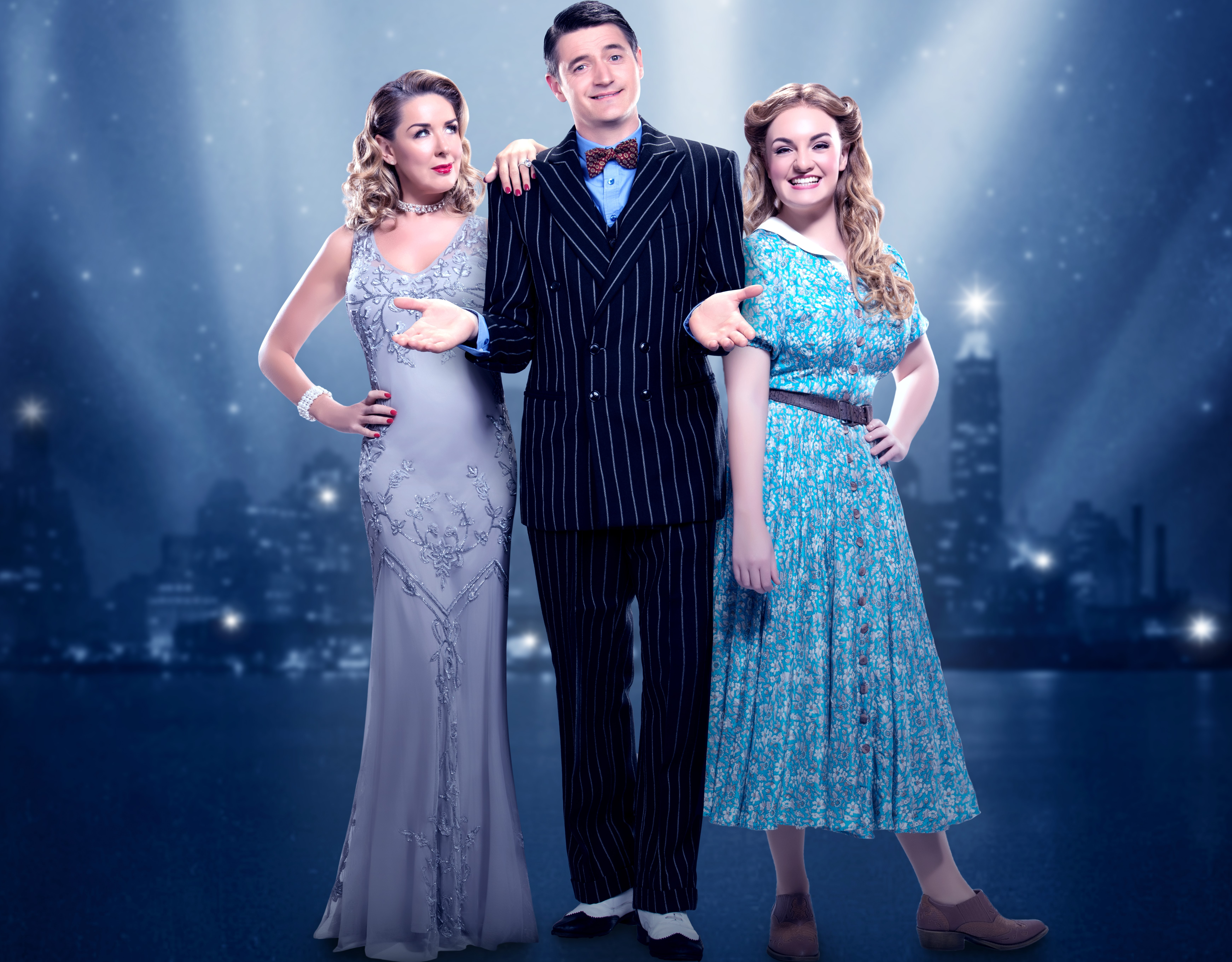 News Claire Sweeney Replaces Caroline Flack In Crazy For You Tour With Tom Chambers My Theatre Mates